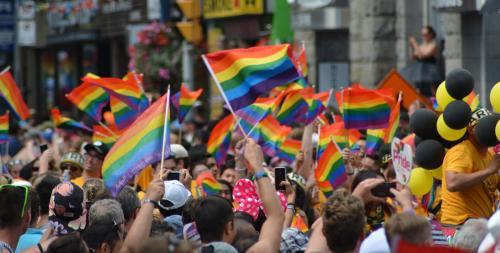 The Artistic Power Of The Rainbow Flag Varsity