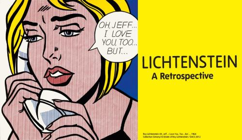 roy lichtenstein i love you too but Lichtenstein: a retrospective at tate modern is the first full-scale  whaam 1963  blue nude, 1995 oh, jeffi love you, toobut 1964.