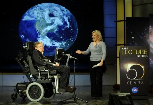 Stephen Hawking's words to be beamed in space today