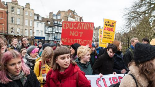 University strikes: unions threaten further industrial action to hit exam period