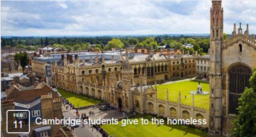 Cambridge student taunted homeless man by burning cash in front of him