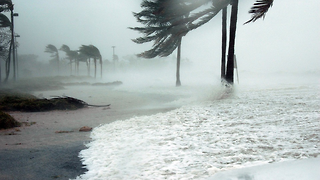 Is there any connection between climate change and hurricanes?