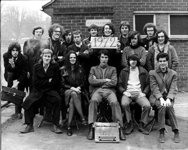 The Varsity team, 1972