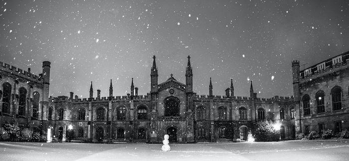 A Strange Cambridge Christmas