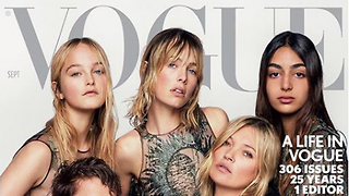 Time after time: British Vogue's September issue