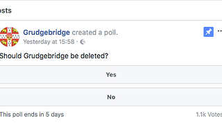 Grudgebridge has become a platform for abuse