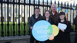 Staff and academics demand Cambridge commits to paying real living wage