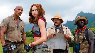 Jumanji: Welcome to the Jungle review: 'mildly embarrassed for them'