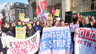 Students speak out about inner conflicts amid strikes