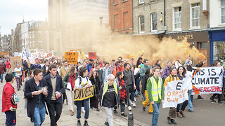 Hundreds march for 'Corporation Cambridge' to divest
