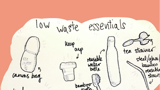 Low-waste living for beginners