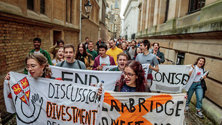 Cambridge has turned its back on democracy and morality over divestment