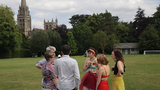 Blake Society Garden Party: more suburban summer than California chic