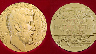 Fields Medal stolen from Cambridge professor minutes after ceremony