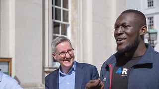 Stormzy launches scholarship for black students to study at Cambridge