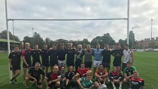 Cambridge men's rugby team kicks off with a convincing win