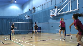 Women's Badminton Blues go toe-to-toe with Trent in hotly contested tie