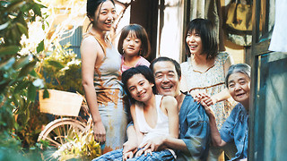 Winner of the Palme d'Or: Shoplifters