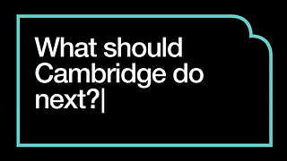 Dear Cambridge, I'm not buying it