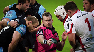 Former World Cup Final referee Nigel Owens MBE to ref men's Varsity rugby match