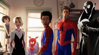 Spider-Man: Into the Spider-Verse and out again