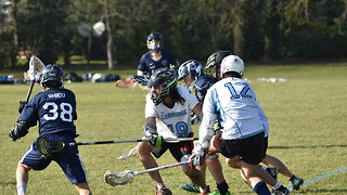 Valiant Cambridge go down to Oxford in Lacrosse Varsity Match