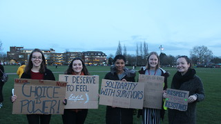 Cambridge students march to Reclaim the Night