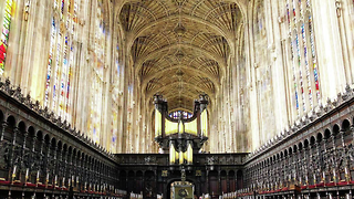 Articulations at King's College Chapel