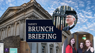 Brunch Briefing - Week 3: A joint student union, Virgo speaks to Varsity, and 'Feeling Blue?' premiers