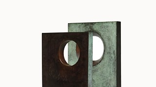 Sotheby's auctions a miniature of Cambridge Hepworth sculpture