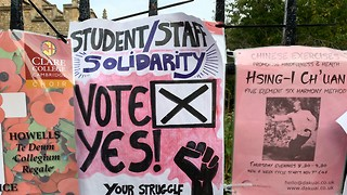 Cambridge UCU votes in favour of strikes