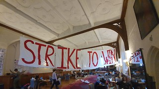 Occupation reaches sixth day as Cambridge takes steps to recognise UCU
