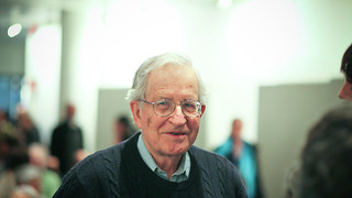 "Noam Chomsky: ""You have to decide whether the species is going to survive"""
