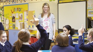 Hands up! Who wants to go into teaching? Choose the state sector
