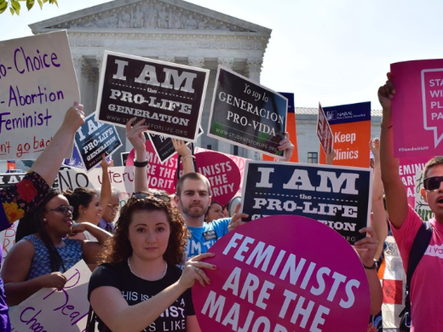 It's not just America, the abortion of women's rights is happening globally