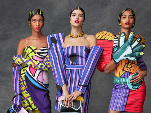 Moschino's homage to Pablo: An Alternate Picasso Universe