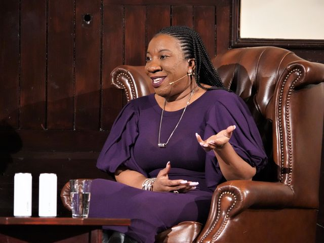 Me Too's Tarana Burke: 'This movement is built on the back of everyday survivors'